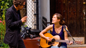 Begin Again, dir. by John Carney, starring Mark Ruffalo and Keira Knightley. A truly joy-filled movie about artists.